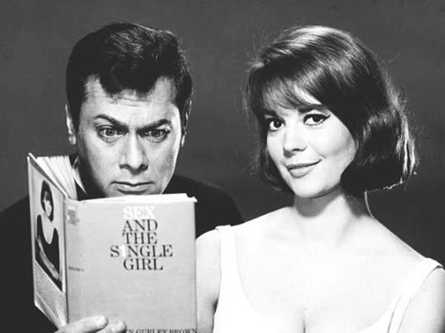 """My mom in """"Sex and the Single Girl"""" in 1964."""