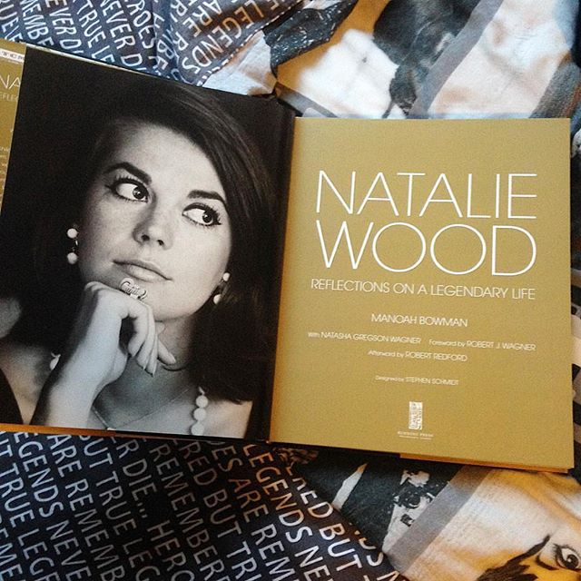We love seeing posts of Natalie Wood Reflections on a Legendary Life. Special edition books signed by Courtney Wagner, Manoah Brown, Robert Wagner, and yours truly are available at nataliefragrance.com. Inside you'll find a bookmark, postcard and your choice of one of four original Natalie photographs. These limited edition copies are selling fast, so head over to our website (link in bio) to order before they're gone! Love, Natasha 📸: @favourite50sand60s