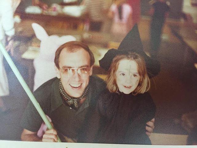 With my beloved godfather, Matt Crowley.