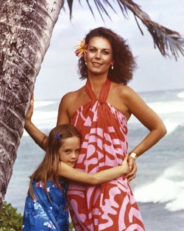 Looking at this photo of my mom and I on vacation in Hawaii brings back so many memories of traveling during the holidays!