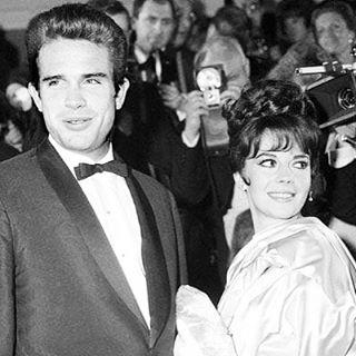 My mom and her wonderful costar, Warren Beatty, ready for the camera in Cannes in 1962