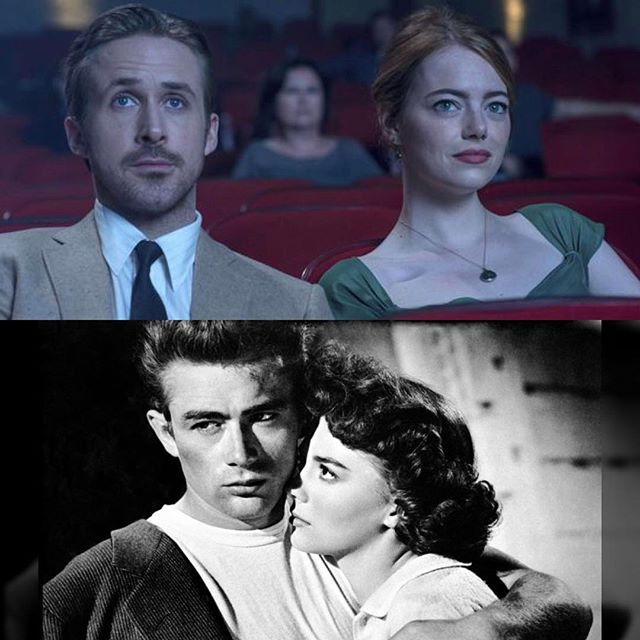 "60 years Before Sebastian (Ryan Gosling) and Mia (Emma Stone) fell in love at a showing of ""Rebel Without a Cause"" Natalie Wood won her first Golden Globe for the film."