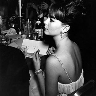 Natalie at the 1962 Golden Globe awards where she was nominated for Best Actress in a Drama Motion Picture
