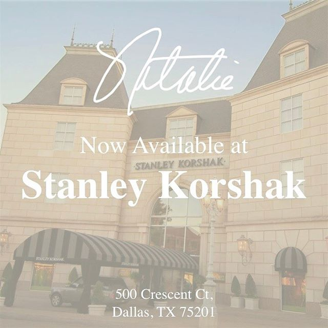 Honored to announce the Natalie Fragrance is now available in @stanleykorshak! 🛍