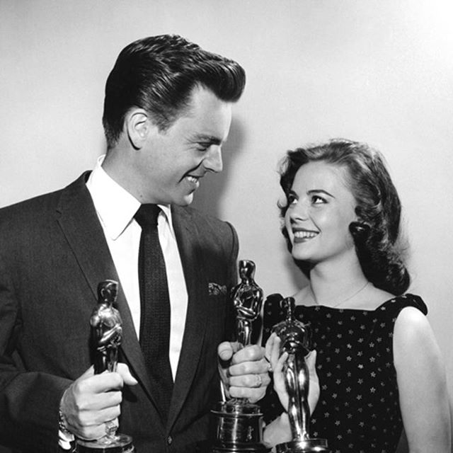 Natalie and Robert in 1950 at the Academy Awards!