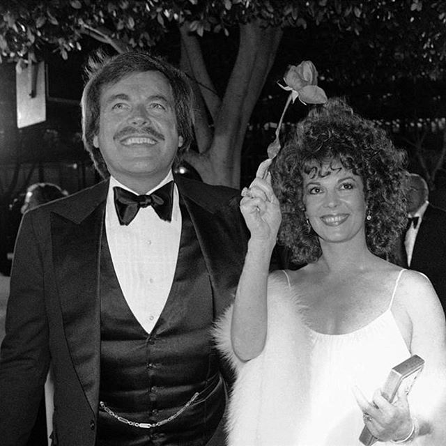 Robert and Natalie arriving at the 1979 Oscars. That evening she presented the award for Best Foreign Language Film.
