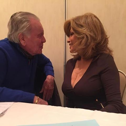 "My Daddy Wagner is guest starring on by husband Barry's new show ""Date My Dad"" on the UP network with Raquel Welch."
