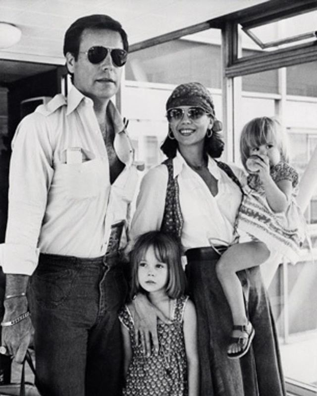 Us arriving at London airport in 1976. Sundays are for lovers and family too!