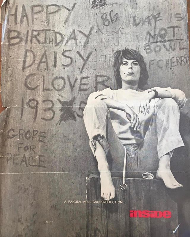 "An ad for 1965's ""Inside Daisy Clover."""