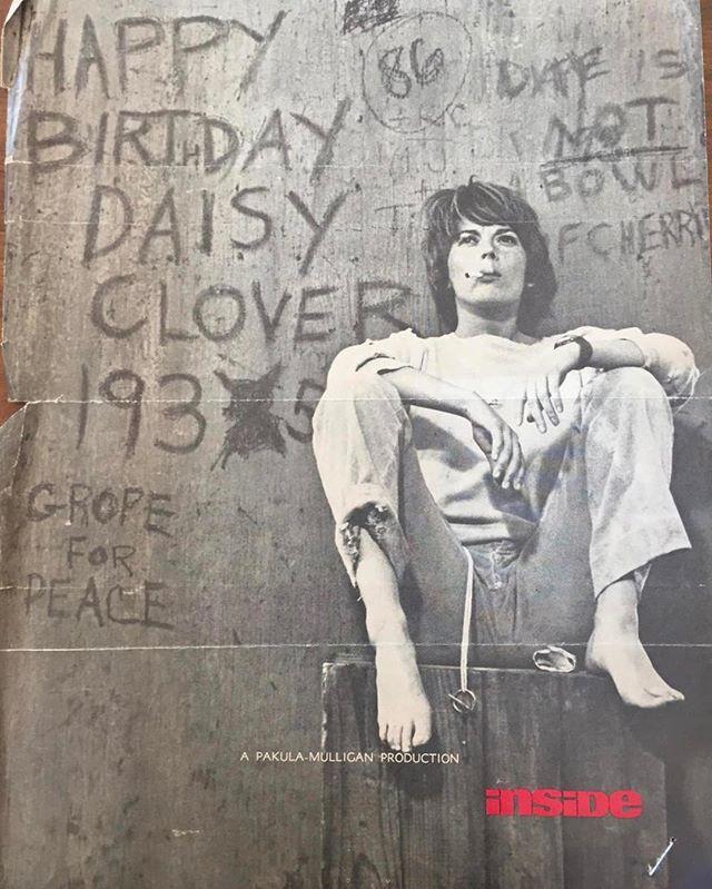 """An ad for 1965's """"Inside Daisy Clover."""""""