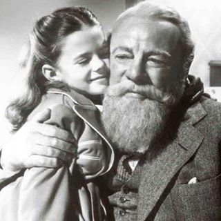 Edmund Gwenn and little Natalie in Miracle on 34th Street