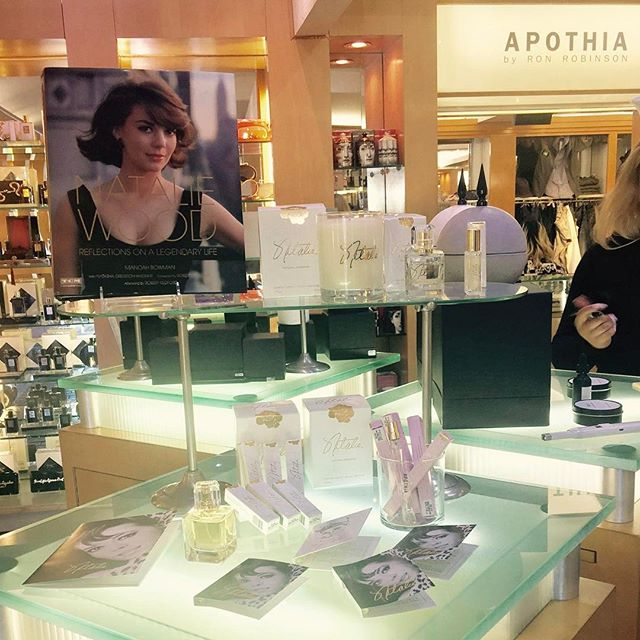 Love this beautiful Natalie Fragrance display at @ronrobinson78. Be sure to stop in to check it out! 🦋