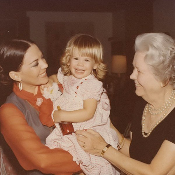 My mom with Courtney and our grandma Chattie ️⠀