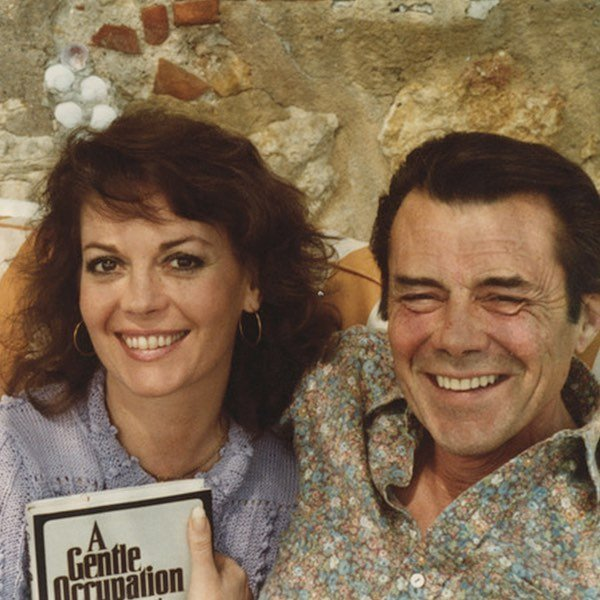 My mom with Dirk Bogarde in the South of France! ⠀