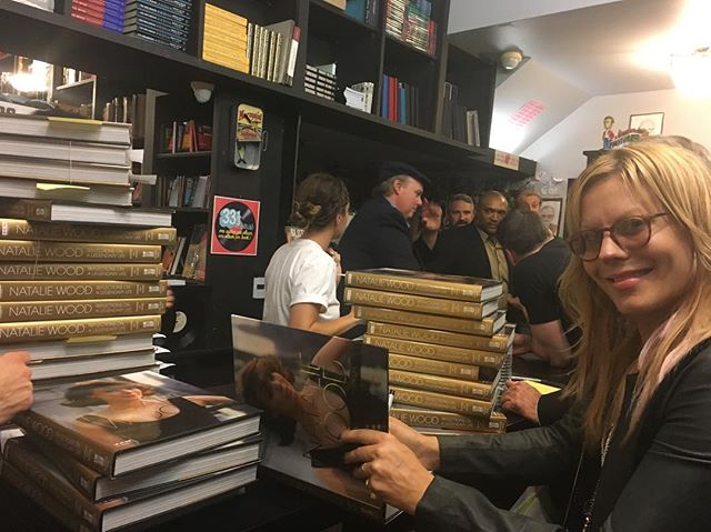 Last night at Book Soup. Thank you to everyone who came out. It was a wonderful experience and we were so happy to see and meet you all. ️Natasha