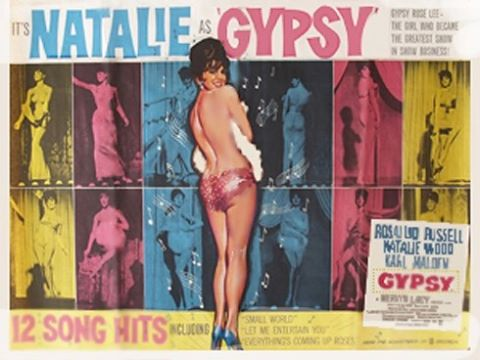"Natalie received a Golden Globe nomination for the second year in a row for her work on ""Gypsy."" This time, she was nomiated for Best Actress in a Musical or Comedy Motion Picture."