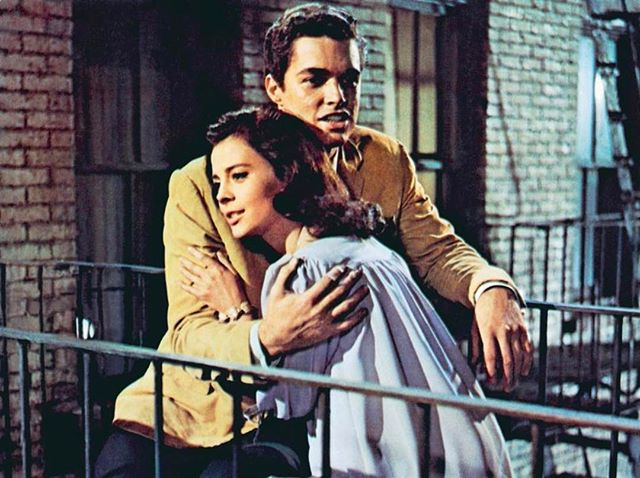 "Natalie starring in ""West Side Story"" with Richard Beymer. The film took home 10 Oscars including Best Picture and Best Director in 1962."