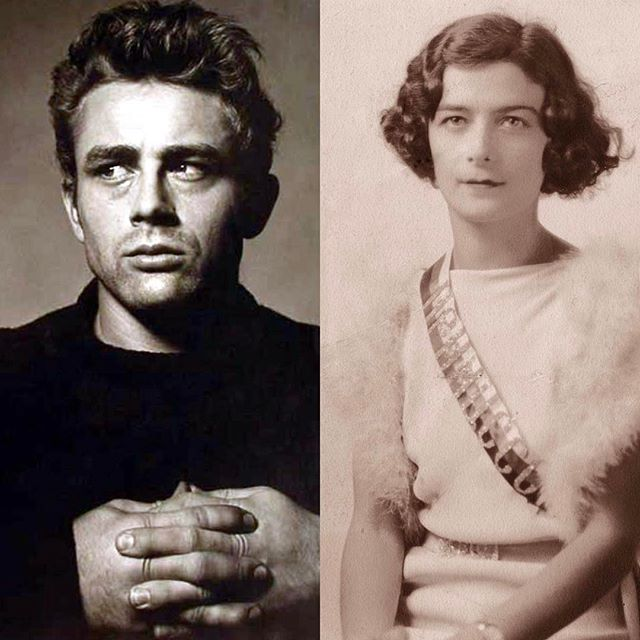 Thinking about these two today. and my Grandmother, Maria Gurdin, born on the same day 19 years apart. ️