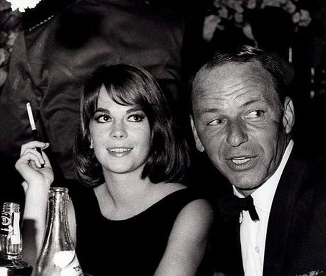 My mom and Frank Sinatra in 1966. They were life long friends!