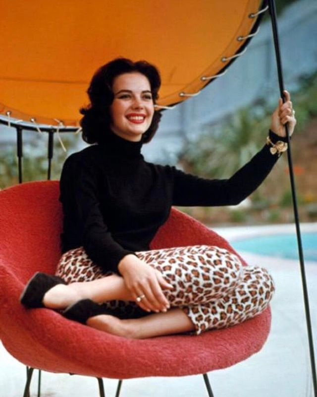 Natalie in the nifty 50s