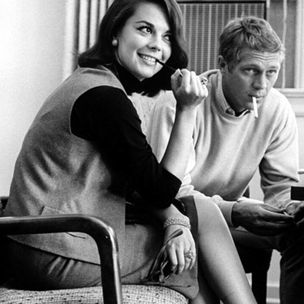 Natalie Wood and Steve McQueen.⠀